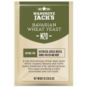 drojdie bere MANGROVE JACK'S M20 Bavarian Wheat 10 gr