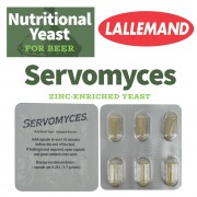 nutrient drojdie Servomyces LALLEMAND blister 6 x 270 mg