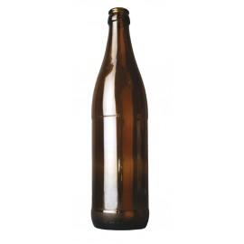 Butelie de sticla 500 ml pentru bere, culoare maro