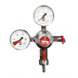 regulator presiune CO2 cu doua manometre