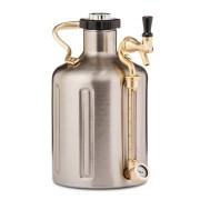 GrowlerWerks uKeg™ 128 stainless steel - 3,8 litri