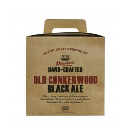 kit MUNTONS OLD CONKERWOOD BLACK ALE 3,6 kg